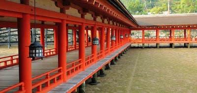 厳島神社回廊