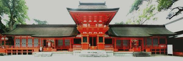 宇佐神宮の正面