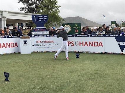 ISPSハンダ ワールドカップ オブ ゴルフ最終日